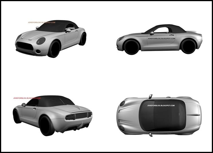 Oatentschutz für Mini Roadster Superleggera