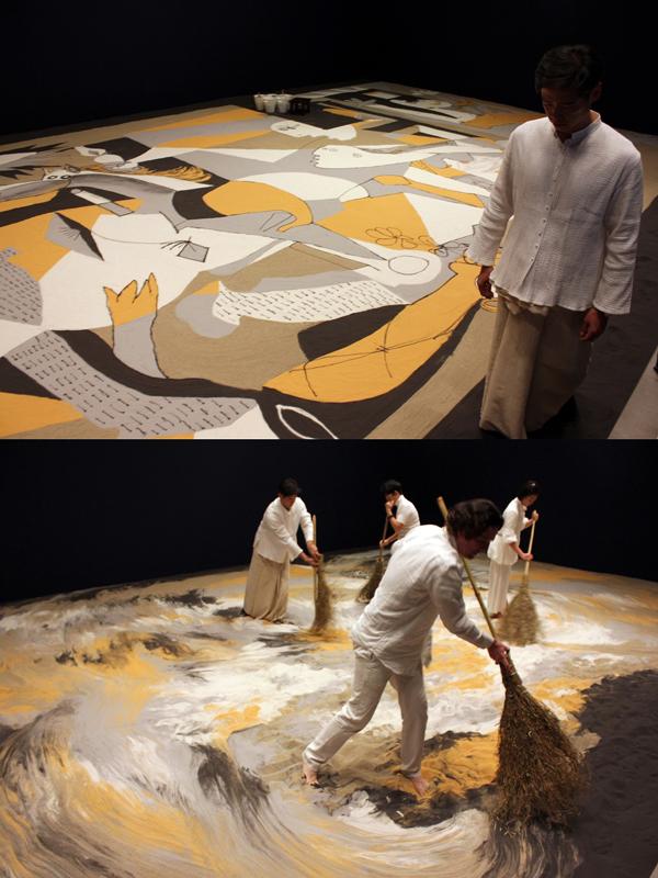 「世界とつながる」リー・ミンウェイの参加型アート展が六本木・森美術館で開催中