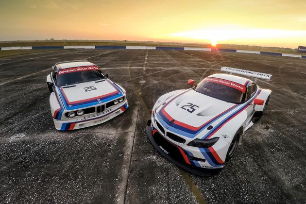 BMW、セブリング12時間レースに参戦するマルティーニ・ストライプの「Z4」を発表!