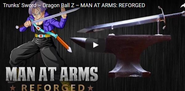 【ファン必見】 『ドラゴンボールZ』のトランクスが使っていた「あの剣」を忠実に作ってみた