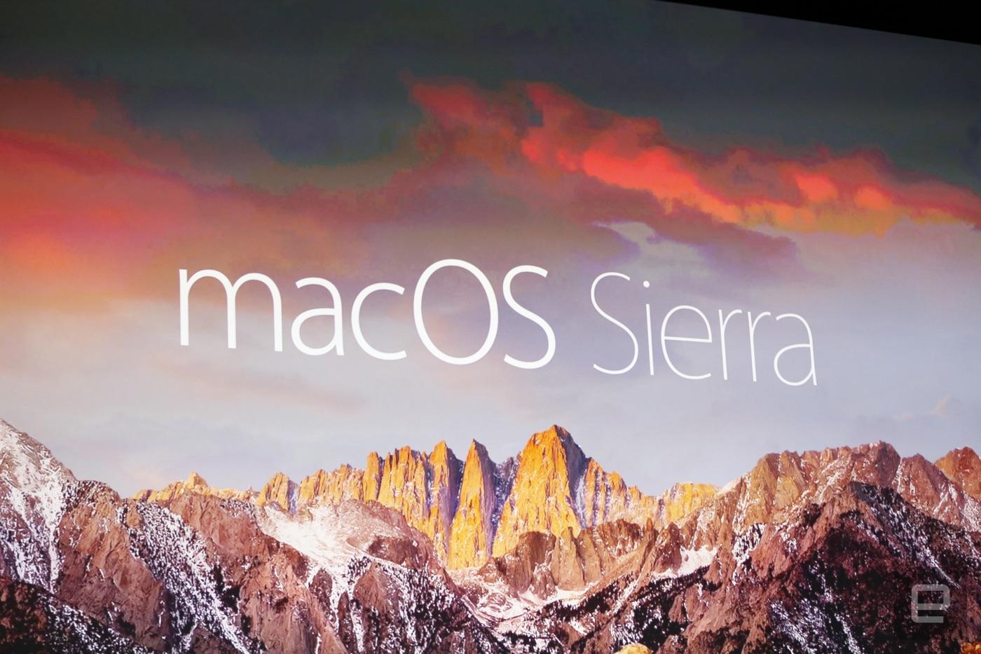 Adiós OS X, hola macOS (¡Sierra!)