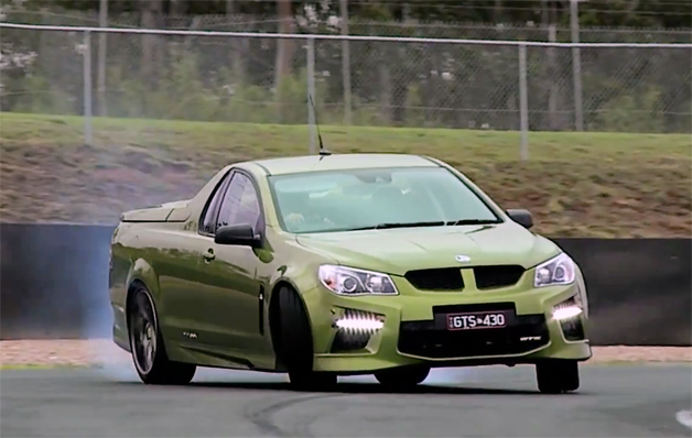 Chris Harris On Cars HSV Maloo GTS