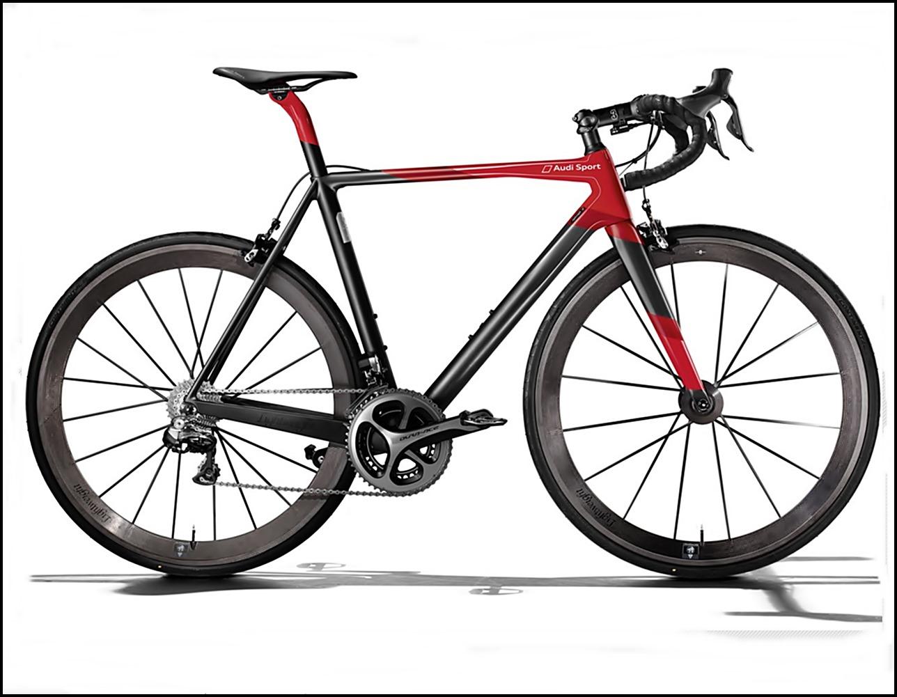 Fahrrad, Audi Fahrrad, Audi Sport, Audi Sport Racing Bike, Carbon, Audi Bike, Gadget,