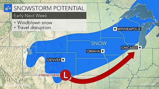 ... Day snowstorm may aim for Denver to Minneapolis - AOL Weather