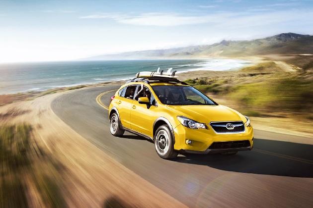 スバル「XV」に、目にも鮮やかなサンライズ・イエローのボディをまとった特別モデルが登場!