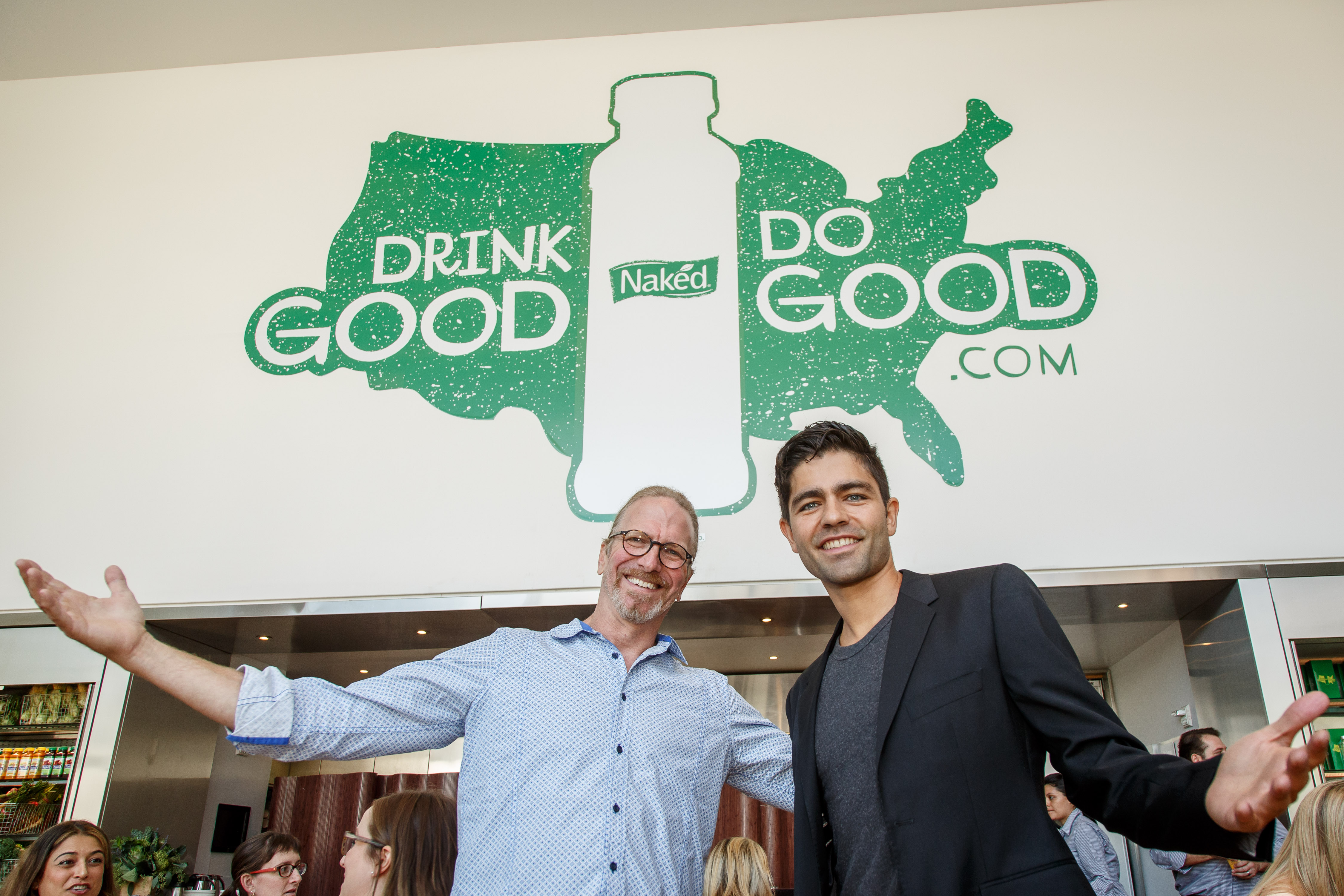 Actor Adrian Grenier attends Naked Juice 'Drink Good. Do Good' campaign lunch at Riverpark Restaurant on August 18, 2015 in New York City. INSIDER IMAGES/Gary He