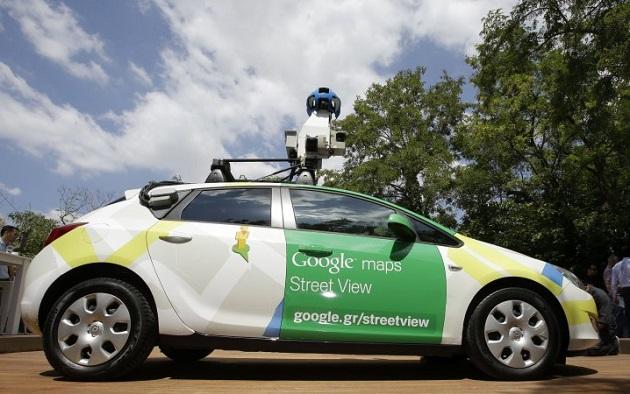 Googleストリートビューのクルマに偽装した、ナンバープレート監視用の警察車両が発見される