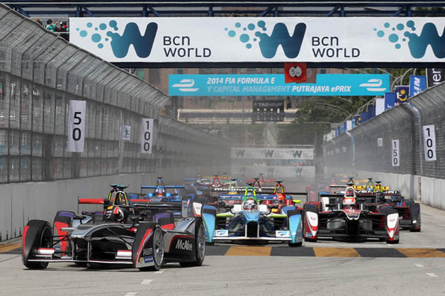 Motorsports: Formula E spools back up for round 2 in Malaysia [w/video]