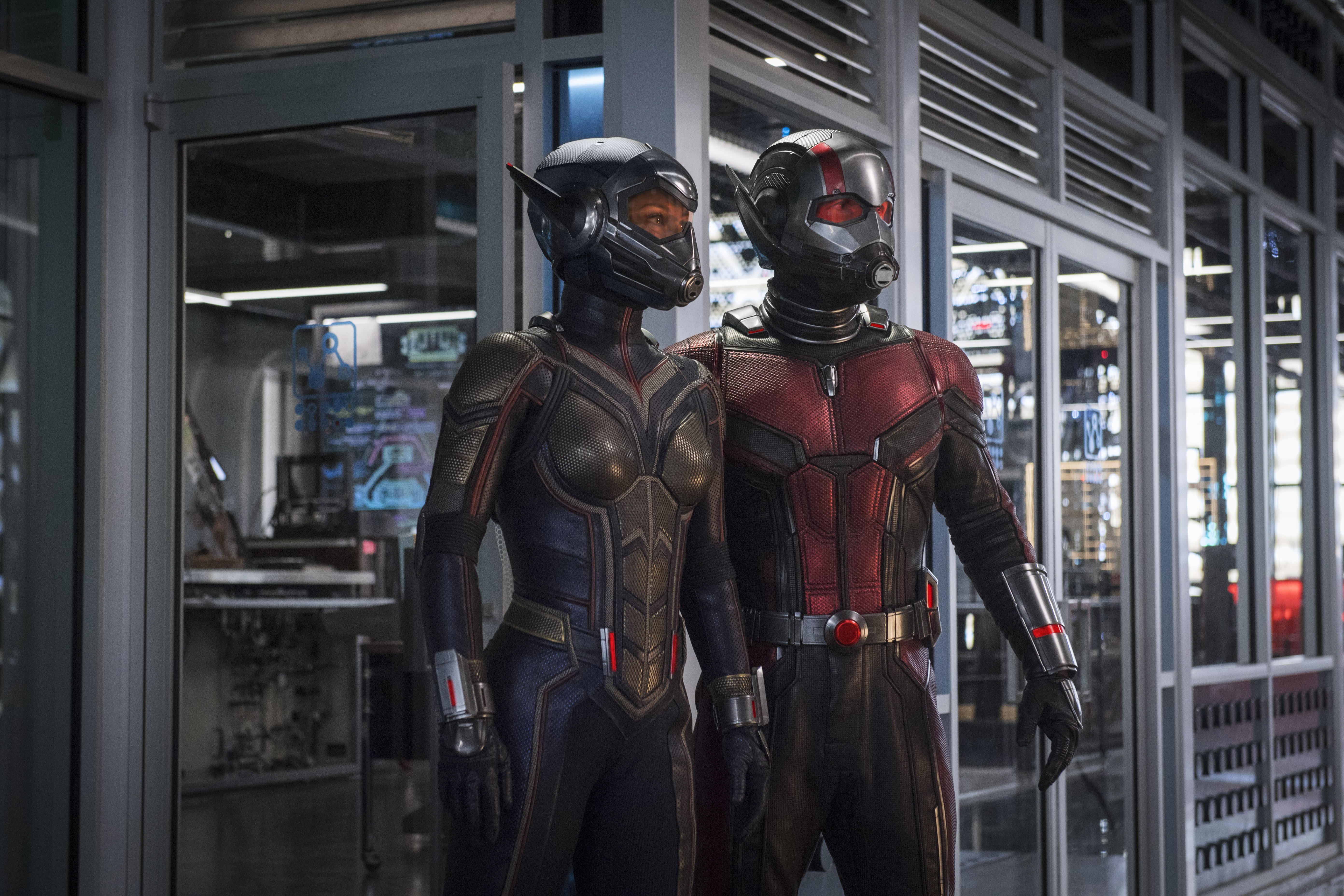 "From the Marvel Cinematic Universe comes ""Ant Man and the Wasp,"" a new chapter featuring heroes with the astonishing ability to shrink. In the aftermath of ""Captain America: Civil War,"" Scott Lang grapples with the consequences of his choices as both a Super Hero and a father. As he struggles to rebalance his home life with his responsibilities as Ant-Man, he's confronted by Hope van Dyne and Dr. Hank Pym with an urgent new mission. Scott must once again put on the suit and learn to fight alongside the Wasp as the team works together to uncover secrets from the past.<br />  <br /> ""Ant-Man and the Wasp"" is directed by Peyton Reed and stars Paul Rudd, Evangeline Lilly, Michael Pena, Walton Goggins, Bobby Cannavale,  Judy Greer, Tip ""T.I."" Harris, David Dastmalchian, Hannah John Kamen, Abby Ryder-Fortson, Randall Park, with Michelle Pfeiffer, with Laurence Fishburne, and Michael Douglas.<br />  <br /> Kevin Feige is producing with Louis D'Esposito, Victoria Alonso, Stephen Broussard, Charles Newirth, and Stan Lee serving as executive producers. Chris McKenna & Erik Sommers, Paul Rudd, Andrew Barrer & Gabriel Ferrari wrote the screenplay. ""Ant-Man and the Wasp"" hits U.S. theaters on July 6, 2018."
