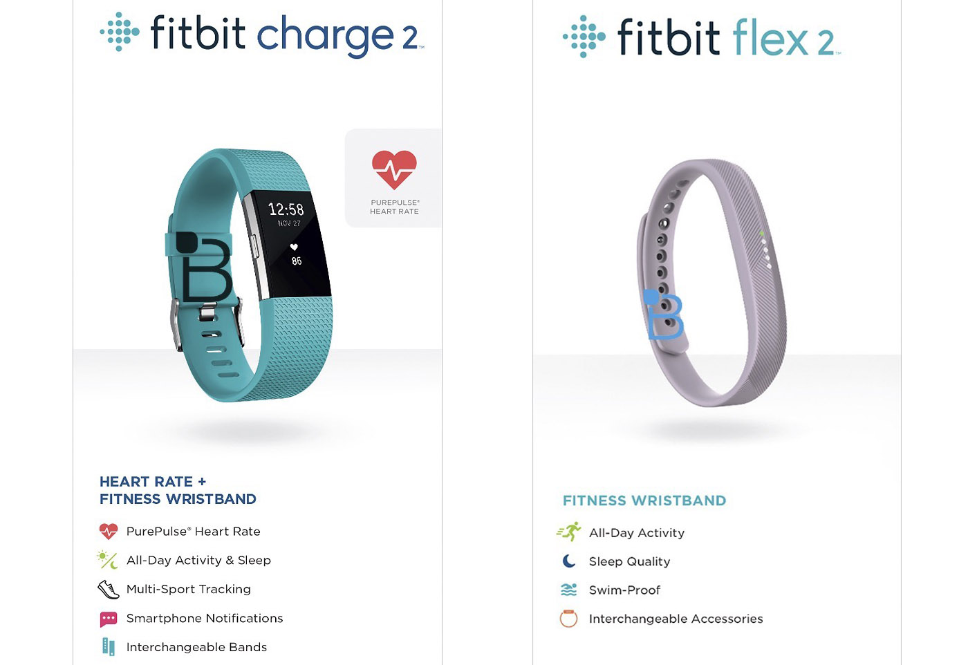 fitbit charge 2 flex 2. Black Bedroom Furniture Sets. Home Design Ideas