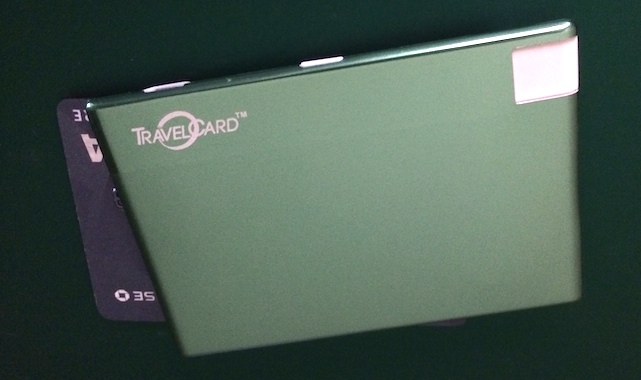 TravelCard battery pack, iPhone