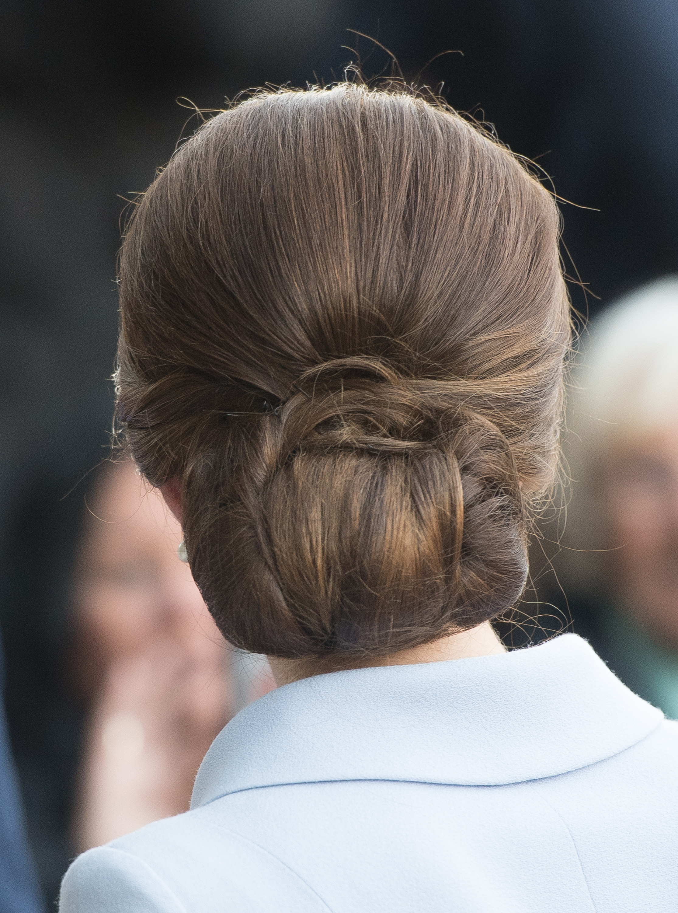 Turns out Kate Middleton wears hairnets to keep her updos in place