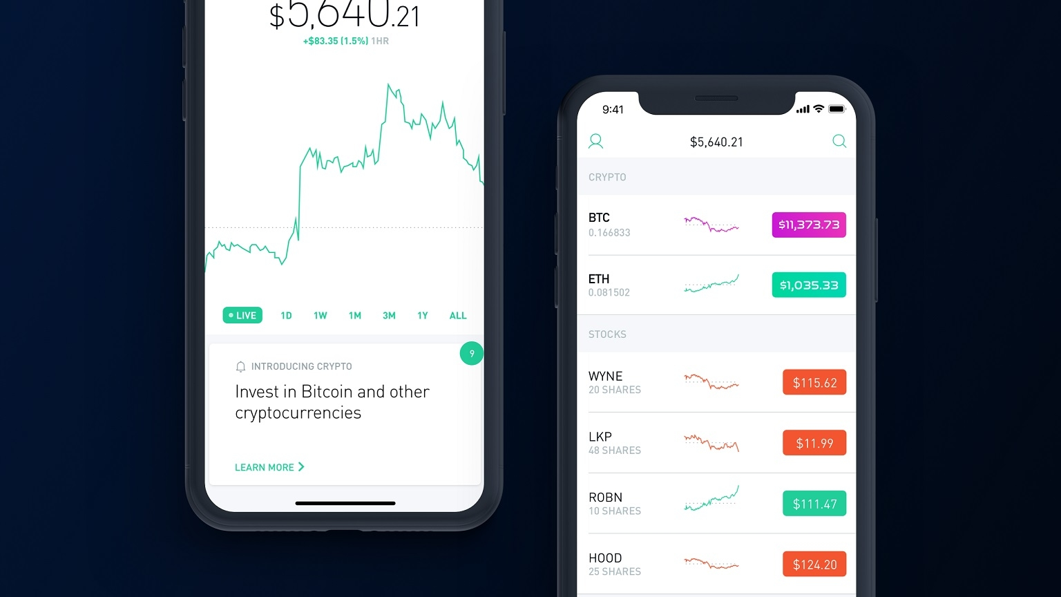 Robinhood's commission-free cryptocurrency trading is live