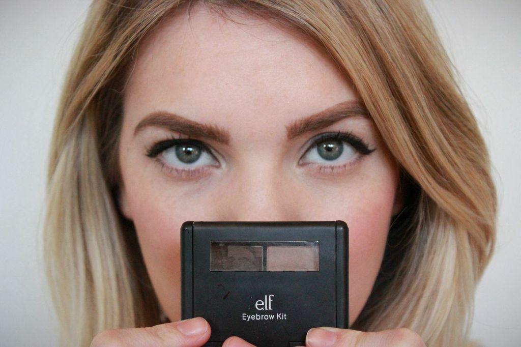 Brow Products for Eye Lashes | Макияж ресниц средствами для бровей