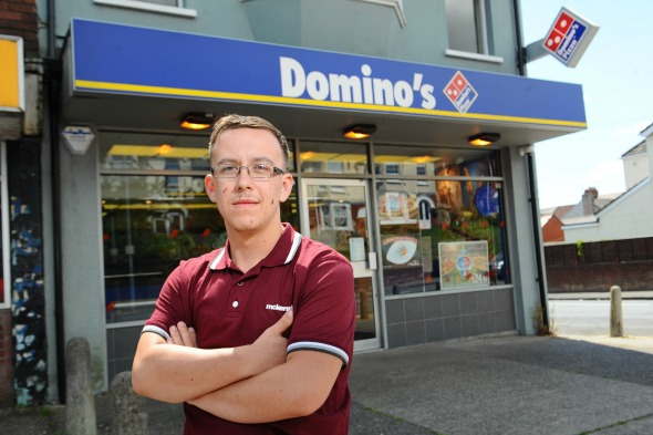 Teen charged £180,000 for Dominos pizza