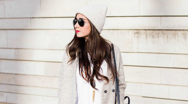 Yesterday's tip: A slouchy boyfriend coat