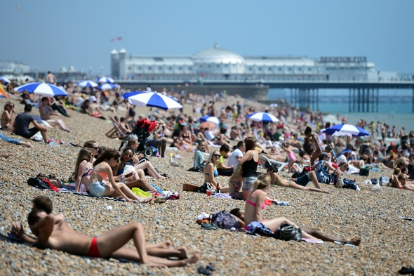 UK heatwave: August set to be the hottest on record