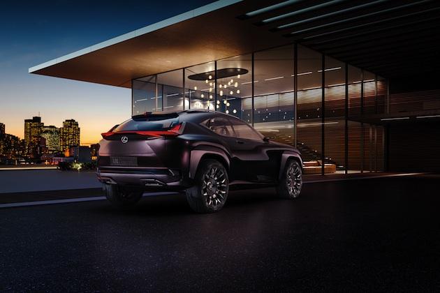 レクサス、パリ・モーターショーで発表する「UXコンセプト」の画像を公開