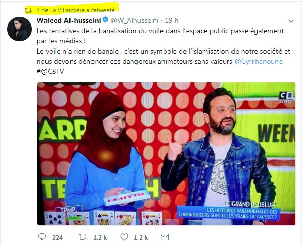 Cyril Hanouna accusé de banaliser l'islamisation !