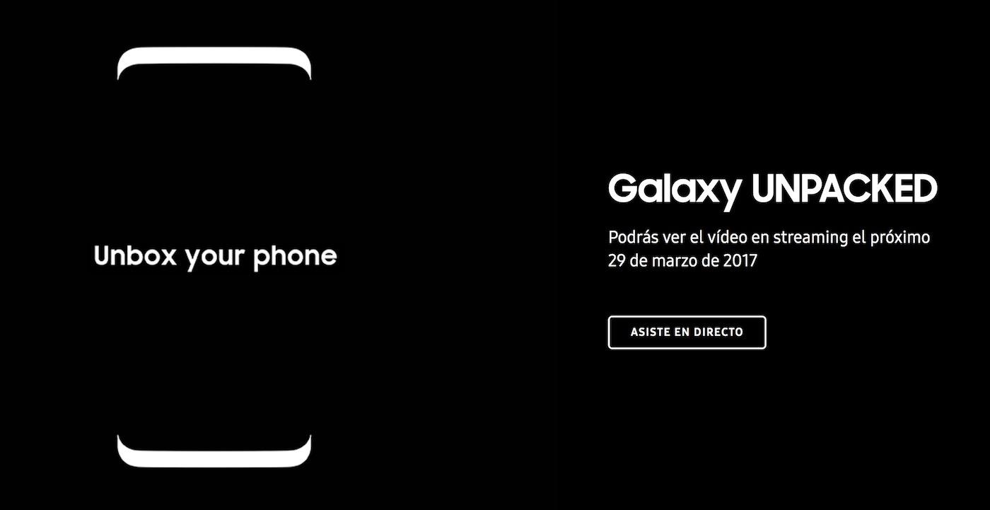 Sigue en directo la presentación del Samsung Galaxy S8