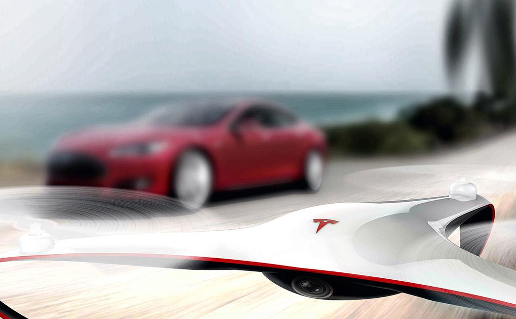 ¿Y si Tesla lanzara su propio dron?