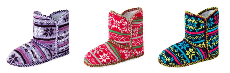 Caramel Cantina Caramel Cantina Foldover Winter Ankle Boot Slippers