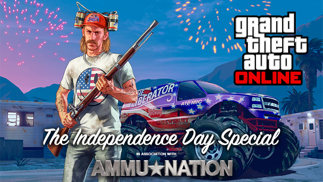 Rockstar celebrates July 4th in true American fashion