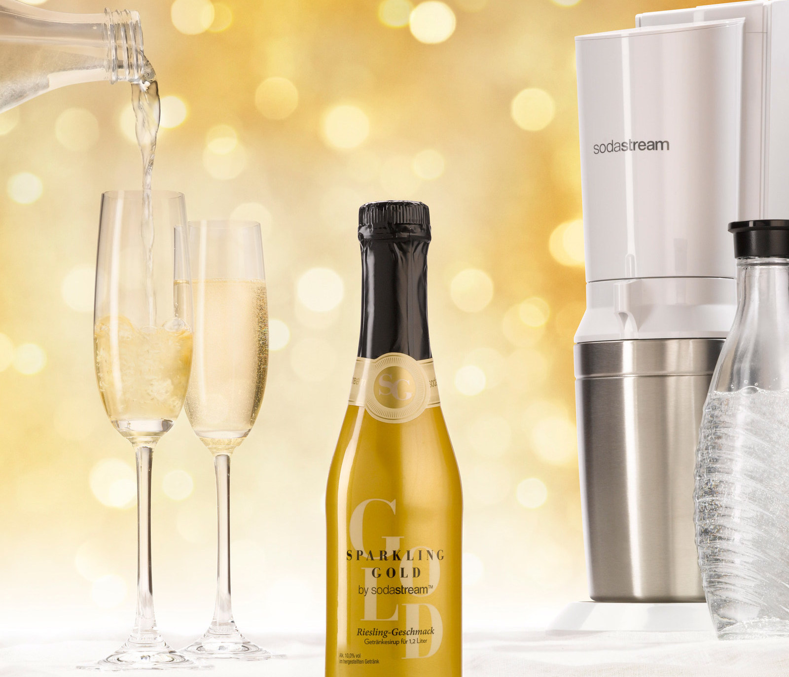Sparkling Gold (PRNewsfoto/SodaStream International Ltd.)