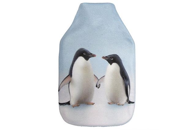 Monty the Penguin John Lewis hot water bottle