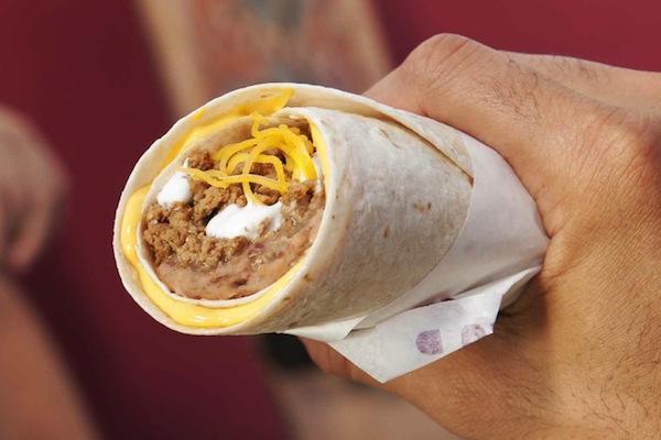 ranking taco bell menu items, beefy 5-layer burrito