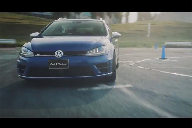 【ビデオ】「R」を冠し、フォルクスワーゲン「ゴルフ」のステーションワゴンは異次元へ突入した
