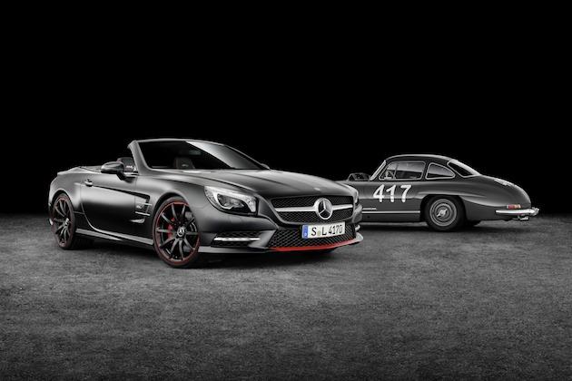メルセデス・ベンツ、1955年のミッレミリアから60周年を記念して「SLクラス」の特別仕様車を発表!