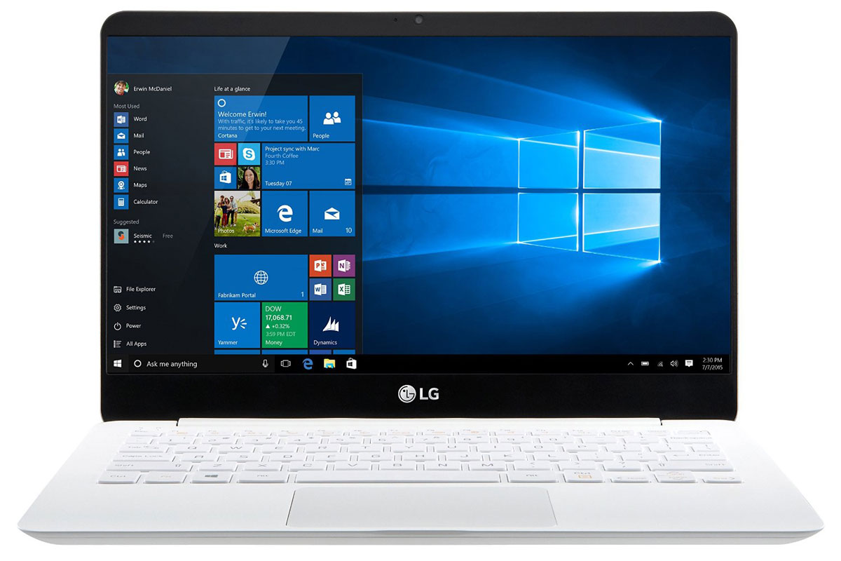 LG's lightweight Gram laptops arrive in the US