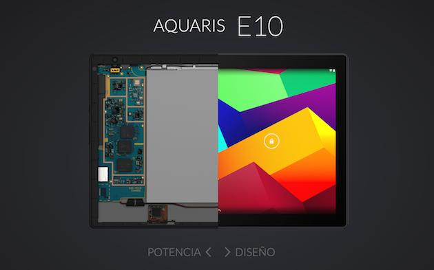 BQ Aquaris E10: 10 pulgadas Full HD en 9,4 milímetros ...