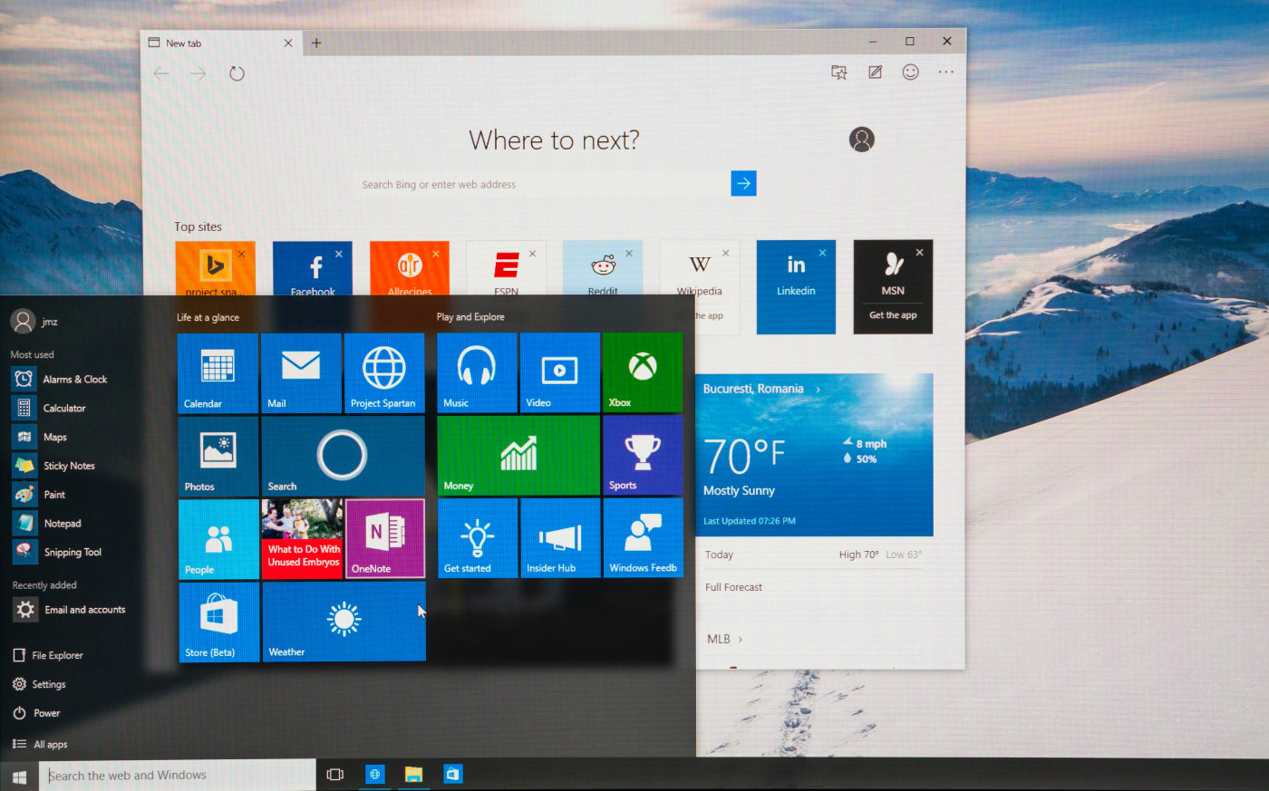 La última preview de Windows 10 trae extensiones para Edge