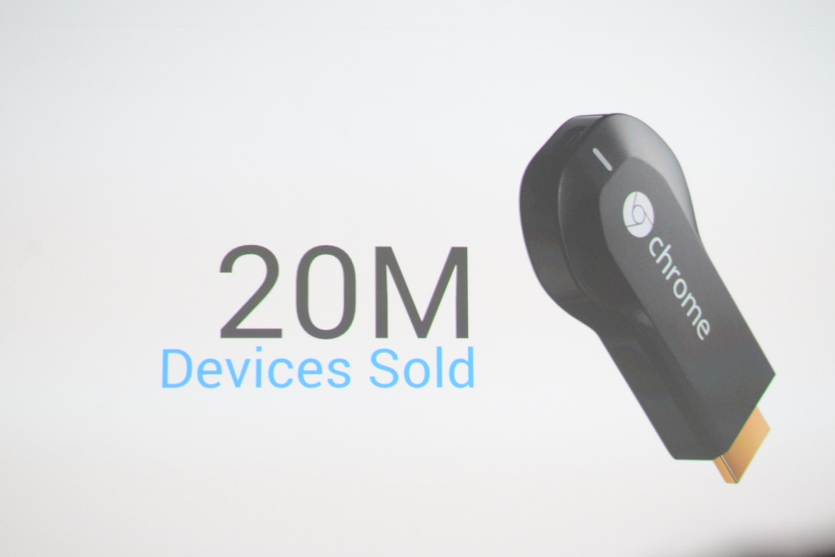 Chromecast adds video from Showtime, Sling TV, NBA and more