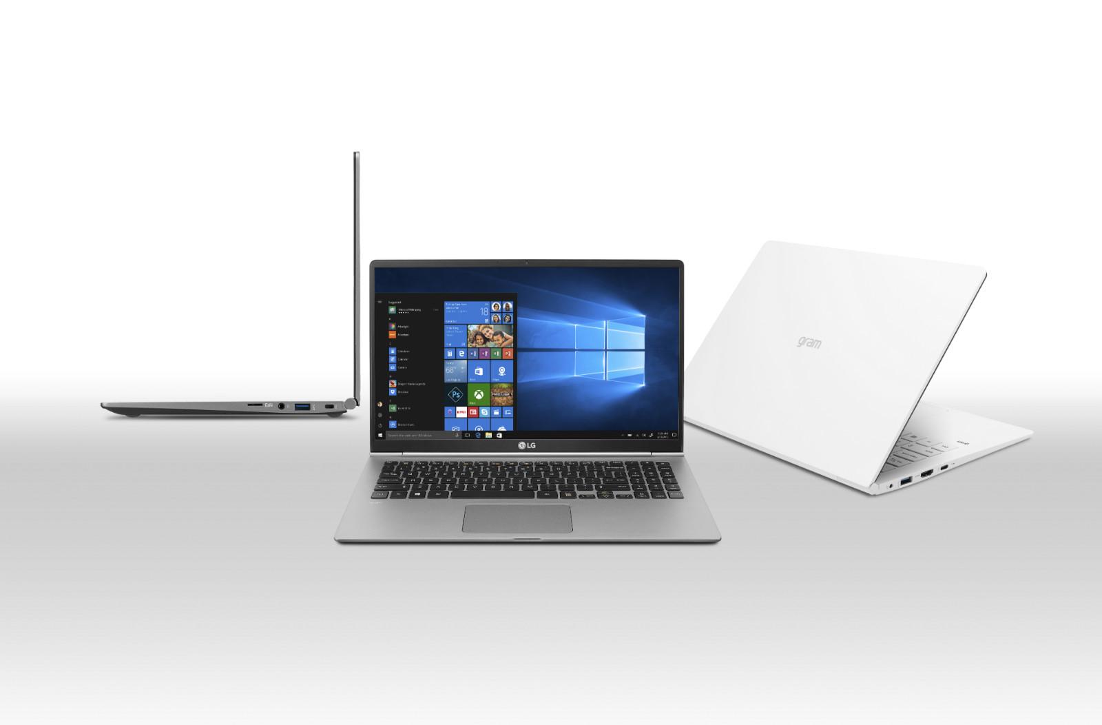 Los portátiles LG Gram se refrescan: tienen más potencia pero el mismo (y ridículo) peso