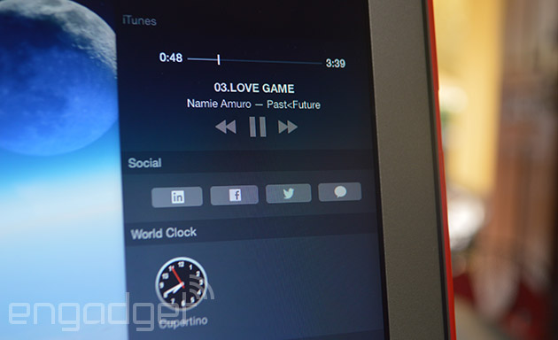 iTunes 12.1 adds a widget to OS X Yosemite's notification center