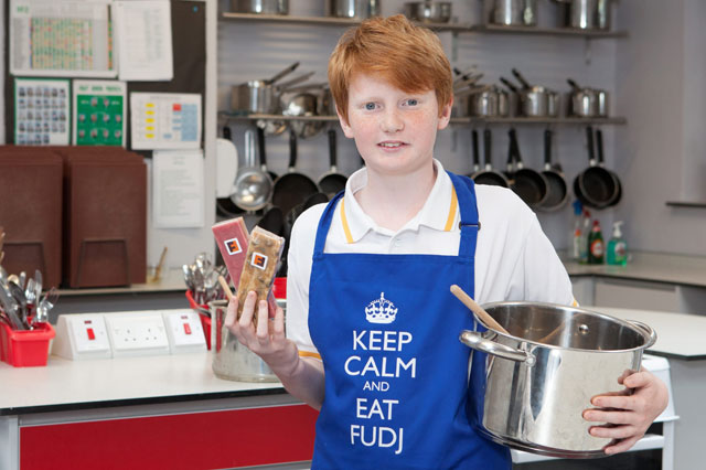Sweet! Dyslexic schoolboy turns grandad's fudge recipe into £40,000 business