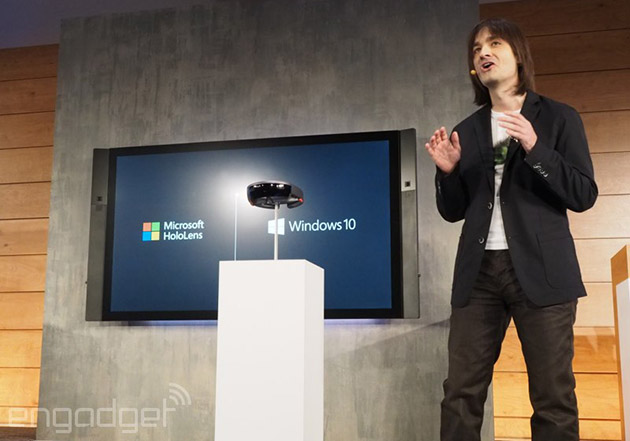 Microsoft's HoloLens headset gives your Windows 10 PC a holographic display