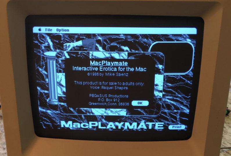 Encuentran un videojuego porno en un Mac de los 80