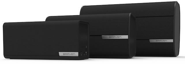 BRAVEN 1100, 2200b and 2300b Bluetooth Speakers