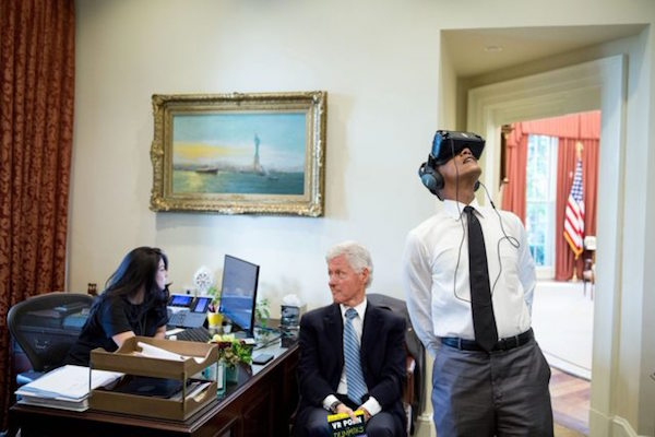 Obama Wore Some Virtual Reality Googles And The Internet Responded With Perfect Photoshops