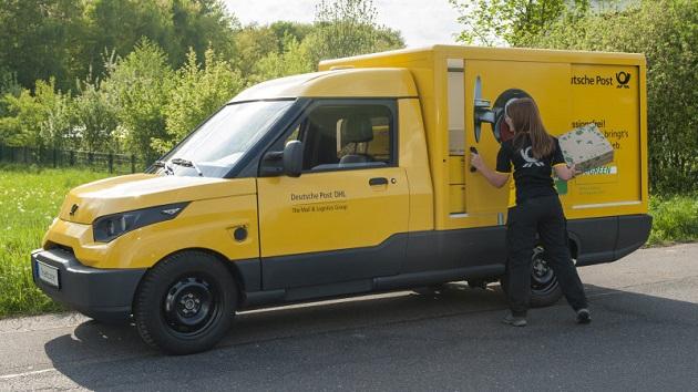 DHL、自社開発したEVバン「ストリートスクーター」の販売に向け意欲