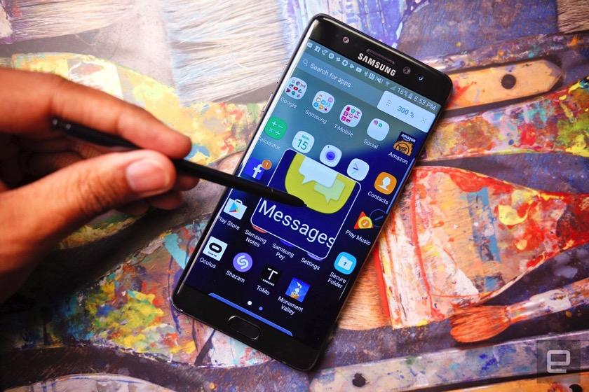 Samsung verteilt Todes-Software für das Note 7