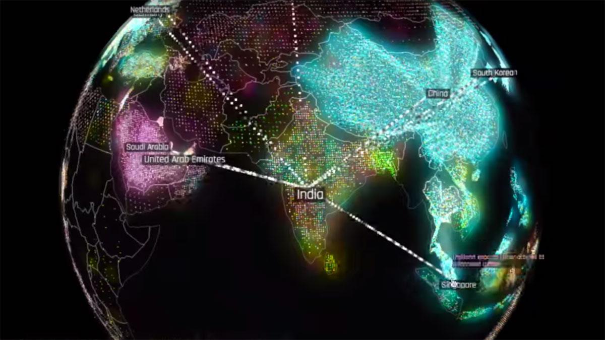 Harvard's 3D economic map