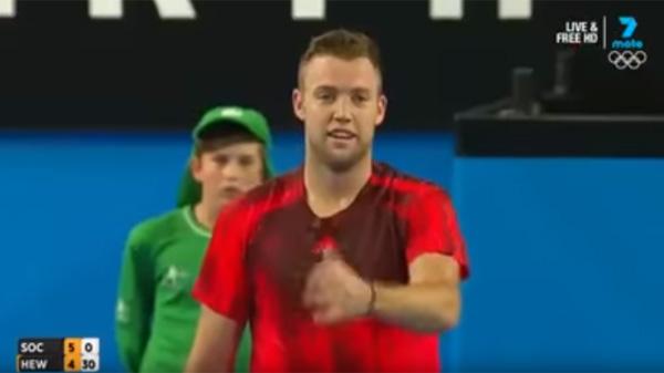 いいヤツすぎ!米プロテニス選手が試合中に見せた「男気ぶり」に世界中から絶賛の嵐【動画】