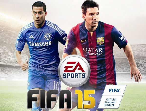 In the garden of Eden Hazard, don't you know that I love FIFA 15?