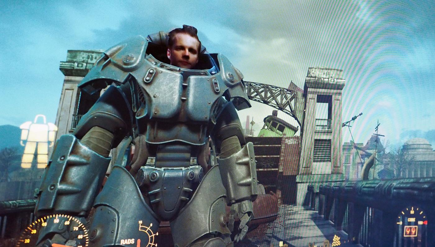 Intel's RealSense camera made me the star of 'Fallout 4'