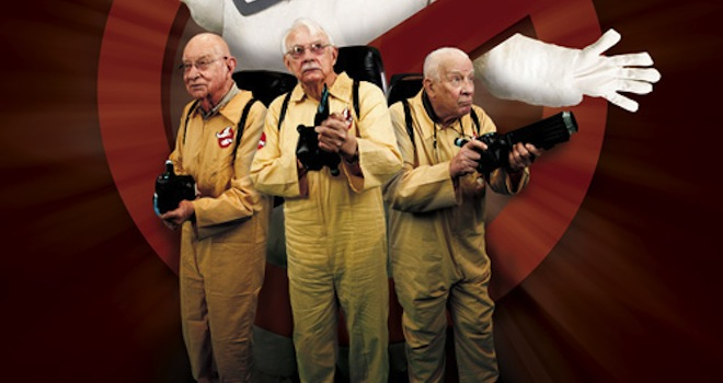 Senior Living Ghostbusters